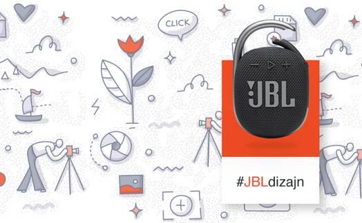 Obrázok ku článku #JBLdizajn: Súťaž o štýlový reproduktor JBL Clip 4