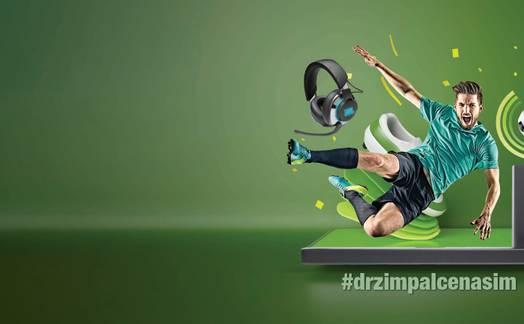 Obrázok ku článku #DRZIMPALCENASIM – ukaž, jak fandíš našim fotbalistům a vyhraj soundbar nebo herní headset